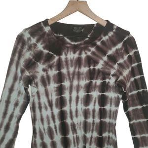 TRYST Tie Dye Heady Knit Long Sleeve Top M